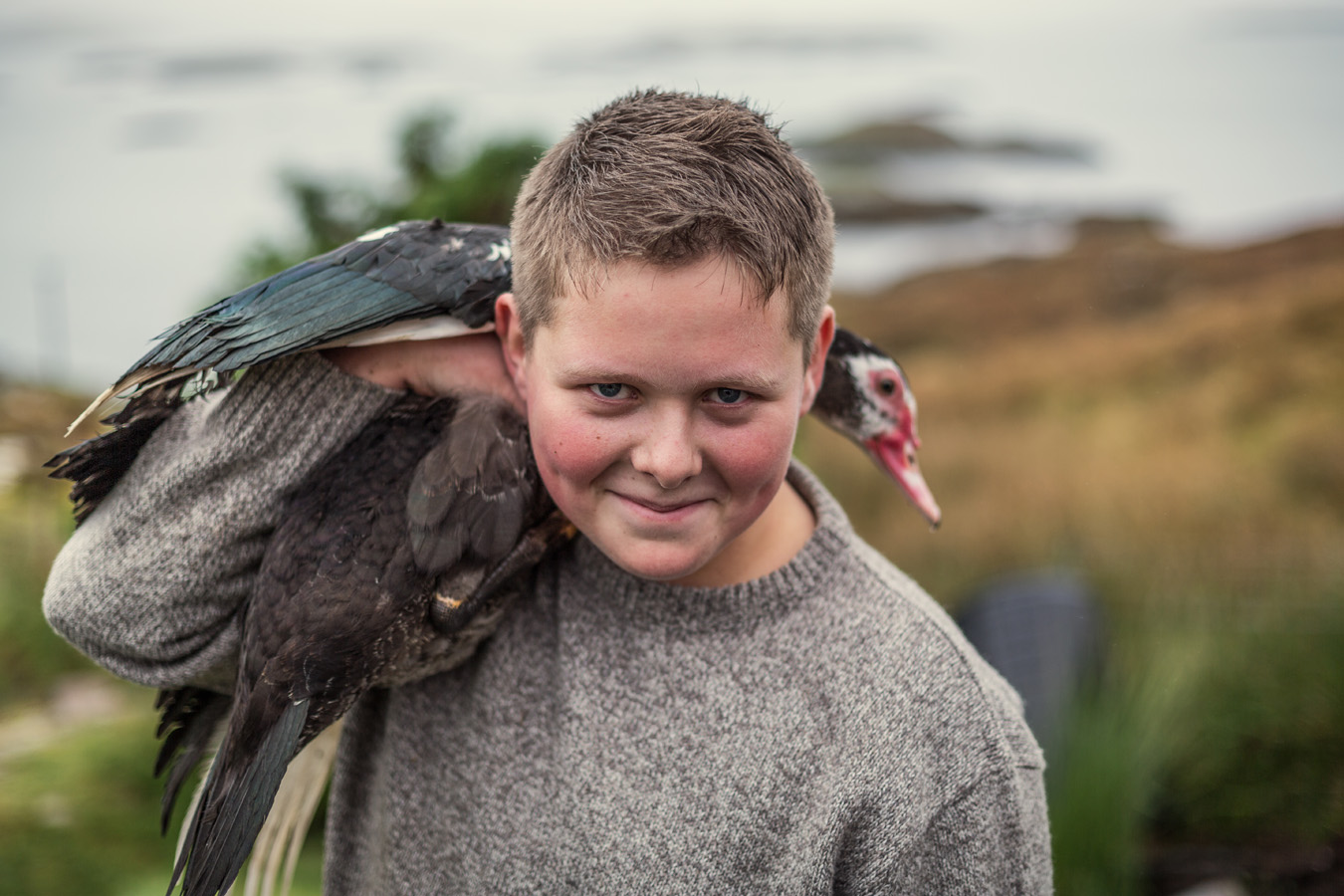 Portraits from the Isle of Harris. - Callum