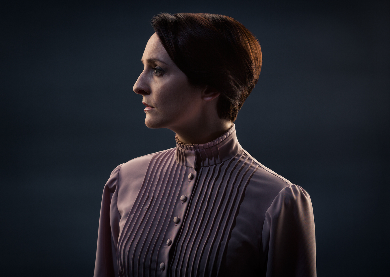 Actor Nicola Daley as Hedda Gabler for the Lyceum theatre